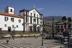 Madera - Funchal - Praca do Municipio Stock Foto's
