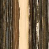Madera inconsútil de la textura Fotografía de archivo