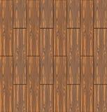 Madera inconsútil de madera de Brown de la textura Imágenes de archivo libres de regalías