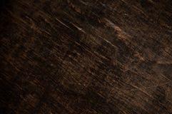 Madera oscura Fotografía de archivo libre de regalías
