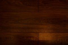 Madera oscura laminada Foto de archivo libre de regalías