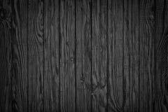 Madera oscura Opinión superior del fondo de madera rústico de la tabla Fotografía de archivo libre de regalías