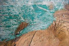 Madera pintada vieja. Foto de archivo libre de regalías