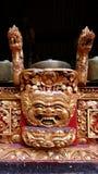 Madera que talla en conjunto de la música del balinese Imágenes de archivo libres de regalías
