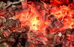 Madera quemada Fotos de archivo libres de regalías