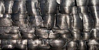 Madera quemada Foto de archivo libre de regalías