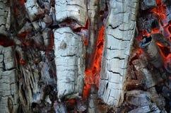 Madera quemada Imágenes de archivo libres de regalías