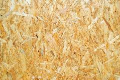 Madera reciclada presionada Fotografía de archivo