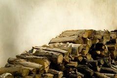 Madera redonda Fotografía de archivo
