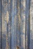 Madera resistida con la pintura gris Foto de archivo