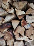 madera secada para la estufa fotografía de archivo