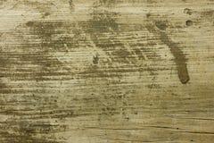 Madera sucia y rasguñada vieja Imagenes de archivo