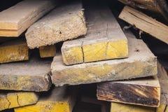 Madera vieja Imágenes de archivo libres de regalías