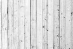 Madera vieja blanca o modelo decorativo de madera del fondo superficial del piso o de la pared del tablón del vintage Una cubiert imagen de archivo