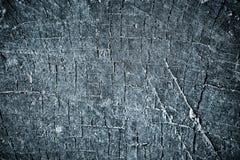 Madera vieja negra, textura Imagen de archivo