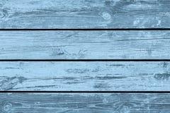 Madera vieja, textura, azul Fotos de archivo libres de regalías
