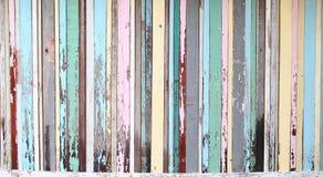 Madera vieja a una textura del fondo de la pared Fotografía de archivo libre de regalías