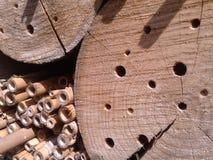 Madera y bambú Foto de archivo libre de regalías