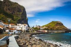 Maderia-Insel, von Faial-Dorf Stockfotos