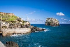 Maderia-Insel, von Faial-Dorf Lizenzfreies Stockbild