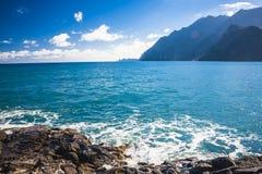 Maderia-Insel, von Faial-Dorf Lizenzfreies Stockfoto
