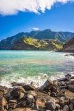 Maderia-Insel, von Faial-Dorf Lizenzfreie Stockfotos