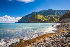 Maderia island, from Faial village Stock Photos