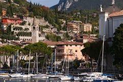 Maderna Lake Garda Stock Photos