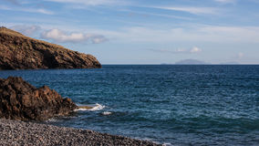 Madery plaża Zdjęcie Stock