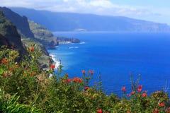 Madery wybrzeże Fotografia Royalty Free