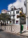 Madery wyspa, Funchal, Stary miasteczko Zdjęcia Stock
