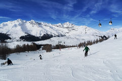 Madesimo ski resort. Val chiavenna. Italy Royalty Free Stock Image