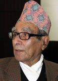 Madhav Prasad Ghimire-Poet del Nepal fotografia stock libera da diritti