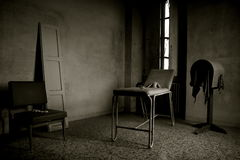Madhouse #02. An ex criminal insane asylum in italy Royalty Free Stock Images
