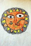 Madhubani Painting Royalty Free Stock Image