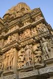 madhya khajuraho της Ινδίας pradesh Στοκ Φωτογραφίες