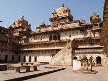 madhya orcha宫殿pradesh 图库摄影