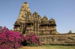 Madhya Pradesh Temple, Western Temples of Khajuraho,India Royalty Free Stock Photography
