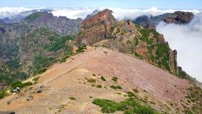 Madiera, paysage montagneux renversant du Portugal photo libre de droits