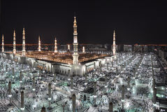 Madina AlManawarah Photographie stock libre de droits