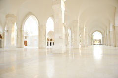 Madina mosque empty Stock Images