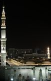 Madina Mosque at night Stock Photos