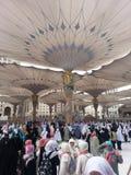 Madinah Nabawi清真寺 库存照片