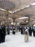 Madinah Nabawi清真寺 免版税图库摄影