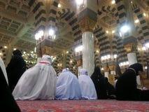 Madinah Nabawi meczet Obraz Stock