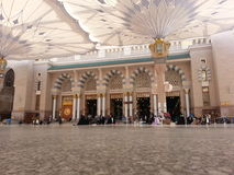 Madinah Nabawi meczet Obraz Royalty Free