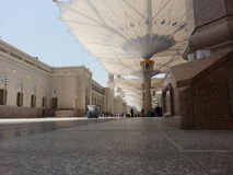 Madinah Nabawi meczet Obrazy Stock