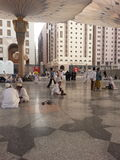 Madinah Nabawi Mosque stock photography