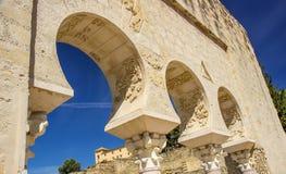 Madinat al-Zahra ruins details Royalty Free Stock Image