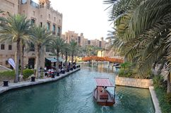 Madinat Jumeirah,迪拜,阿联酋 库存照片